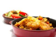 Paella with sea food Stock Photo