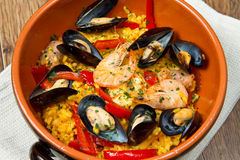 Paella Royalty Free Stock Photo