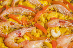 Paella series 01 Royalty Free Stock Images