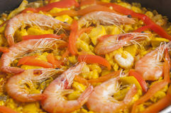 Paella series 02 Royalty Free Stock Image