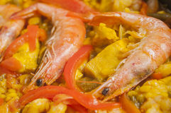 Paella series 08 Royalty Free Stock Photo