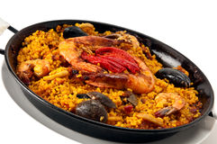 paella spanish fotografia royalty free