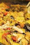 paella spanish zdjęcia stock
