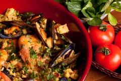 paella spanish tradycje obraz royalty free
