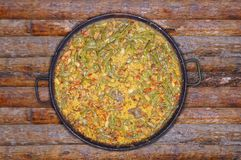 Paella. Royalty Free Stock Images