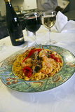 Paella squisito Immagine Stock