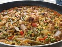 paella royalty-vrije stock fotografie