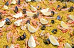 Paella Valenciana Stock Image