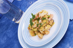 Paella Valenciana Stock Photo