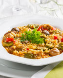 Paella valenciana Stock Photos