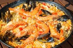 Paella Valenciana Royalty Free Stock Photos