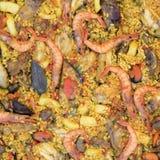 Paella valenciana Royalty Free Stock Image