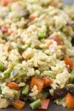 Paella vegetariano immagine stock libera da diritti