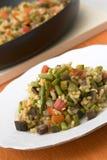 Paella vegetariano immagini stock libere da diritti