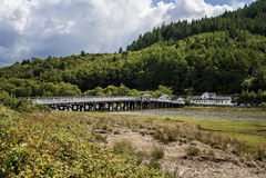 Paenpool-Mautbrücke Stockbilder