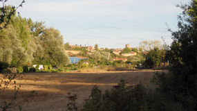 Paesaggi agricoli Immagine Stock
