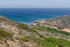 Paesaggi dal mare Immagini Stock