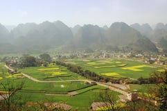 Paesaggi del Guizhou Fotografia Stock Libera da Diritti