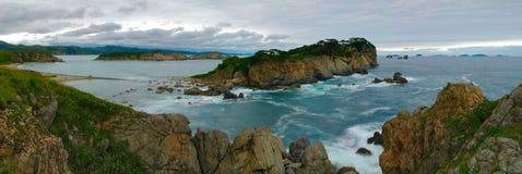 Paesaggi del mare di Japan-1 Fotografie Stock Libere da Diritti