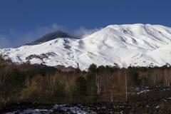 Paesaggi del nord dell'Etna Immagini Stock Libere da Diritti