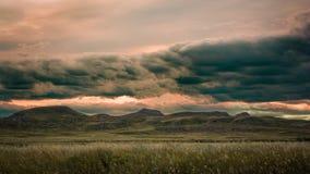 Paesaggi del parco nazionale dei pascoli Immagini Stock Libere da Diritti