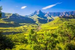 Paesaggi del Sudafrica fotografie stock