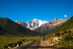 Paesaggi del Tibet Immagine Stock Libera da Diritti