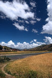 Paesaggi del Tibet Fotografia Stock Libera da Diritti