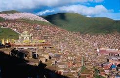 Paesaggi del Tibet Immagini Stock Libere da Diritti