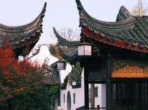 Paesaggi del villaggio della Cina Shanghai Immagine Stock