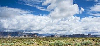 Paesaggi dell'Arizona Fotografia Stock Libera da Diritti