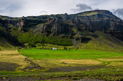 Paesaggi dell'islandese di estate Fotografie Stock Libere da Diritti