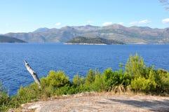 Paesaggi dell'isola di Lopud, Croatia Fotografia Stock Libera da Diritti