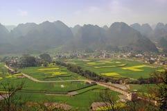 Paesaggi della Cina Fotografie Stock