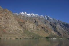 Paesaggi della montagna di Asia centrale di Federazione Russa di regione di Pamir Fotografia Stock Libera da Diritti