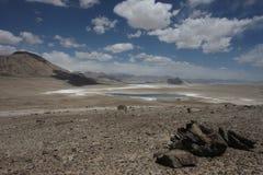 Paesaggi della montagna di Asia centrale di Federazione Russa di regione di Pamir Immagini Stock