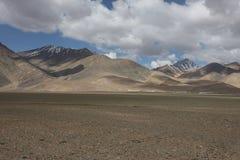 Paesaggi della montagna di Asia centrale di Federazione Russa di regione di Pamir Fotografie Stock