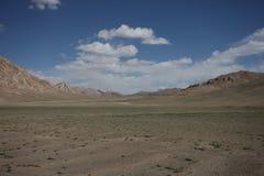 Paesaggi della montagna di Asia centrale di Federazione Russa di regione di Pamir Immagine Stock