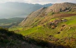 Paesaggi della Sicilia. Fotografia Stock