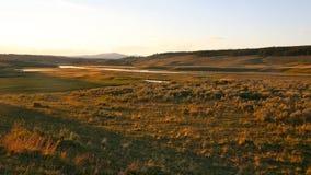 Paesaggi della sosta nazionale di pietra gialla Fotografia Stock