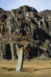 Paesaggi delle montagne all'autunno, Repubblica di Altai Immagini Stock