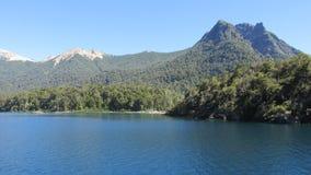 Paesaggi di Bariloche Argentina Immagini Stock
