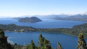 Paesaggi di Bariloche Argentina Immagini Stock Libere da Diritti