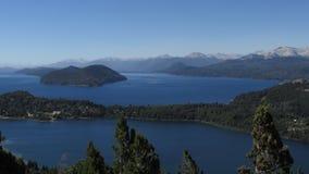 Paesaggi di Bariloche Argentina Fotografia Stock