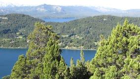 Paesaggi di Bariloche Argentina Immagine Stock