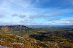Paesaggi di caduta, Canada Fotografia Stock