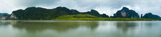 Paesaggi di Krabi Fotografie Stock