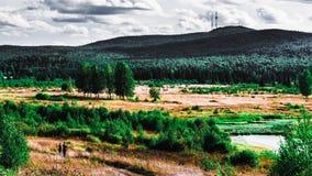 Paesaggi di Ural Immagine Stock