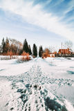 Paesaggi di Ural Fotografia Stock Libera da Diritti