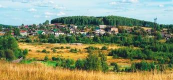 Paesaggi di Ural Fotografie Stock Libere da Diritti